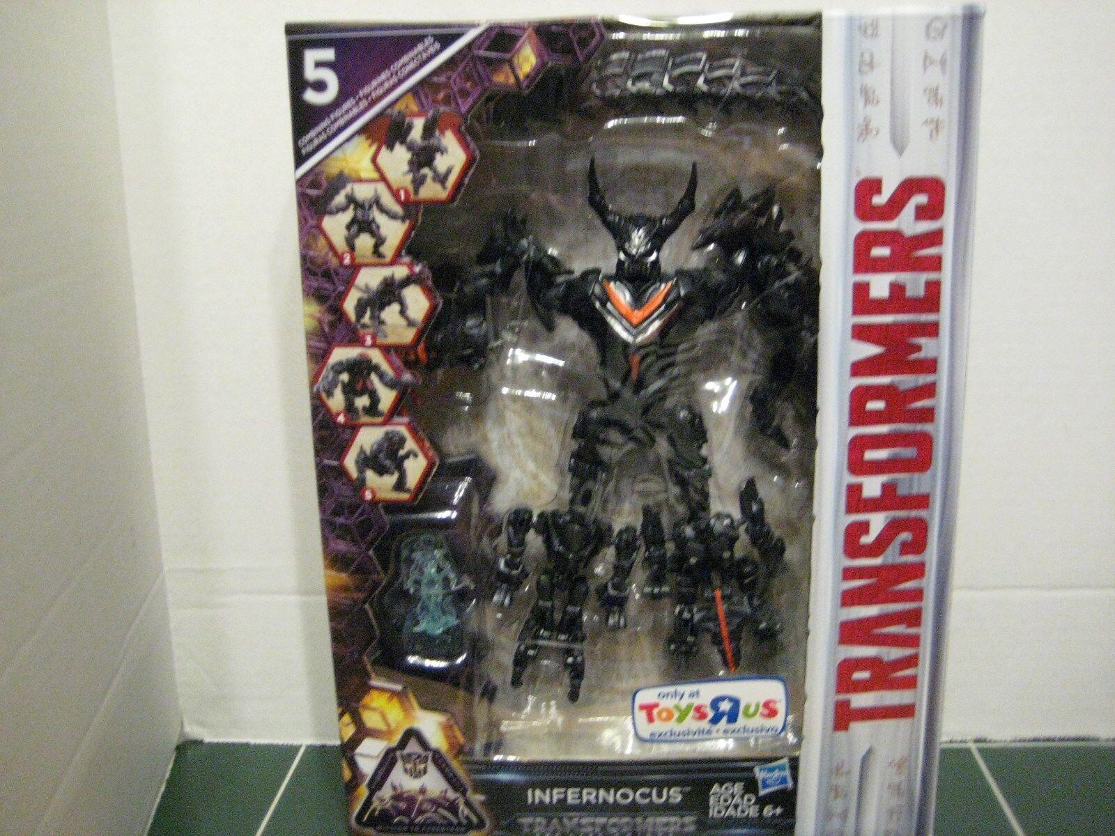 Transformers Infernocus Exclusive Figure The Last Night Five Combining Figures
