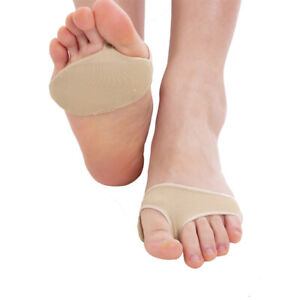 9c7dbd3c35ff0 Details about 2Pcs Ballet Forefoot Covers Metatarsal Ball of Foot Gel Pad  Pain Relief Cushion
