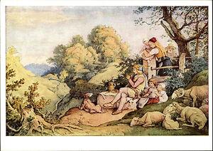 Scheda-di-artisti-Hermes-mappa-immagine-arte-artisti-Adrian-Ludwig-Richter-034-maienlust-034