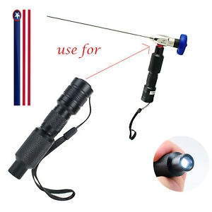 USPS-Portable-10W-LED-Cold-Light-Source-Connector-Fit-For-Storz-Wolf-Endoscope