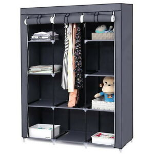 Image Is Loading 4 Tier Cabinet Home Storage Closet Organizer 67