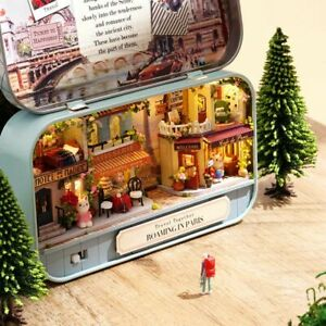 DIY Dollhouse Miniature 3D Doll House Kit Box Theatre Kids Toy Gift Home Decor