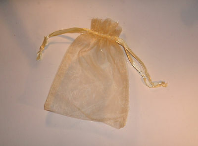 x12 CHRISTMAS ORGANZA GIFT BAGS SMALL MEDIUM LARGE WHITE BLACK GOLD IVORY PURPLE