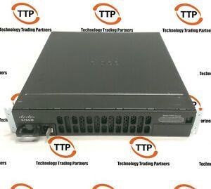CISCO-4300-ROUTER-ISR4351-V-K9-UC-w-PWR-4450-1000W-AC-NIM-2MFT-T1-E1-PVDM4-64