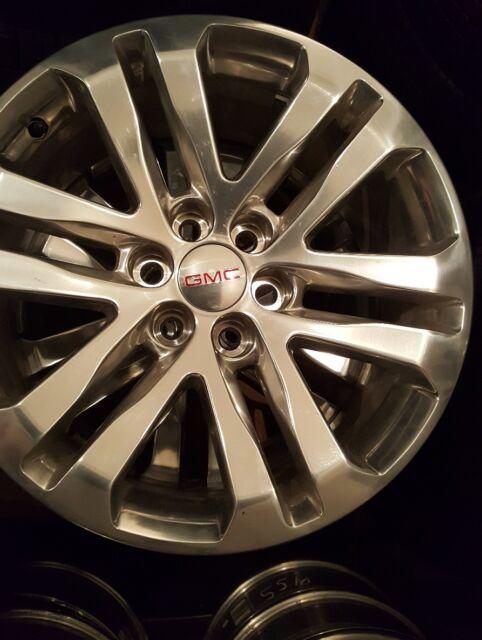 18 Gmc Canyon Chevrolet Colorado Factory Oem Wheels Set Of 4 99 Ebay