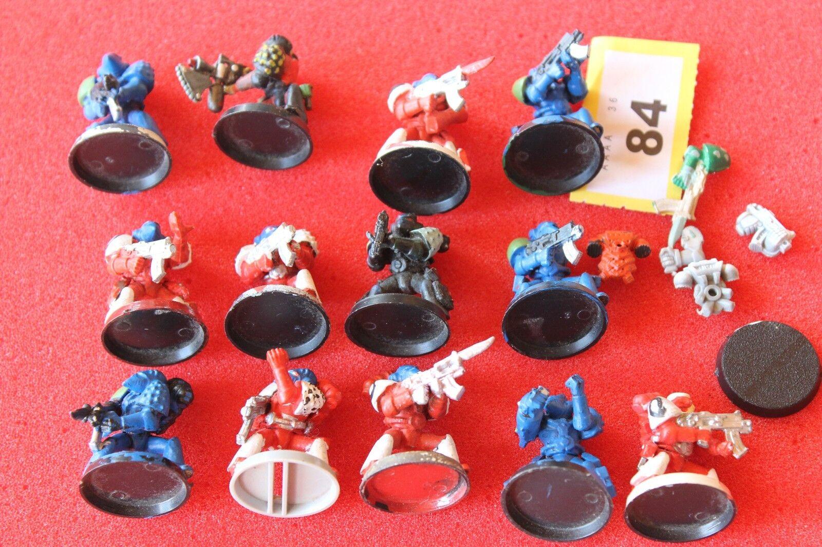 Games Workshop Warhammer 40k RTB01 Space Marines Rogue Trader Army 1990s OOP