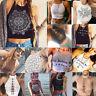 Fashion Women's Crop Top Sleeveless Summer Casual Tank Tops Vest Blouse T Shirt