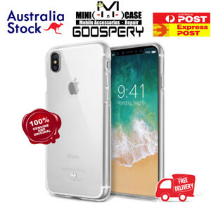 new arrival 2c965 eb6ac Details about iPhone 4 4S 5 5S 5SE Goospery Mercury Transparent Clear Jelly  TPU Cover Case