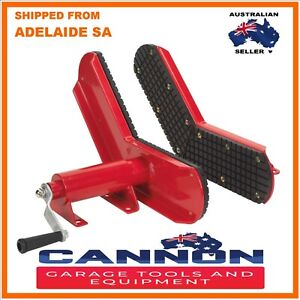 Wheel Clamp for use with Hydraulic Motorcycle Motor Bike Lift Table Bench Chock