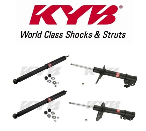 For Toyota RAV4 2.0L 2 Door Front KYB Suspension Struts Rear Shock Absorbers
