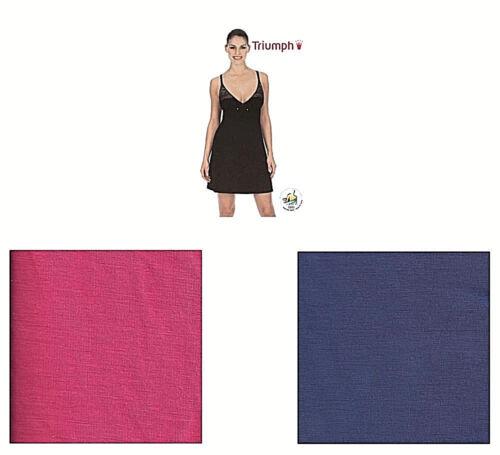 Triumph LOVELY SURPRISE NDK   Nachthemd   44   lipstick pink   deep cobalt   NEU
