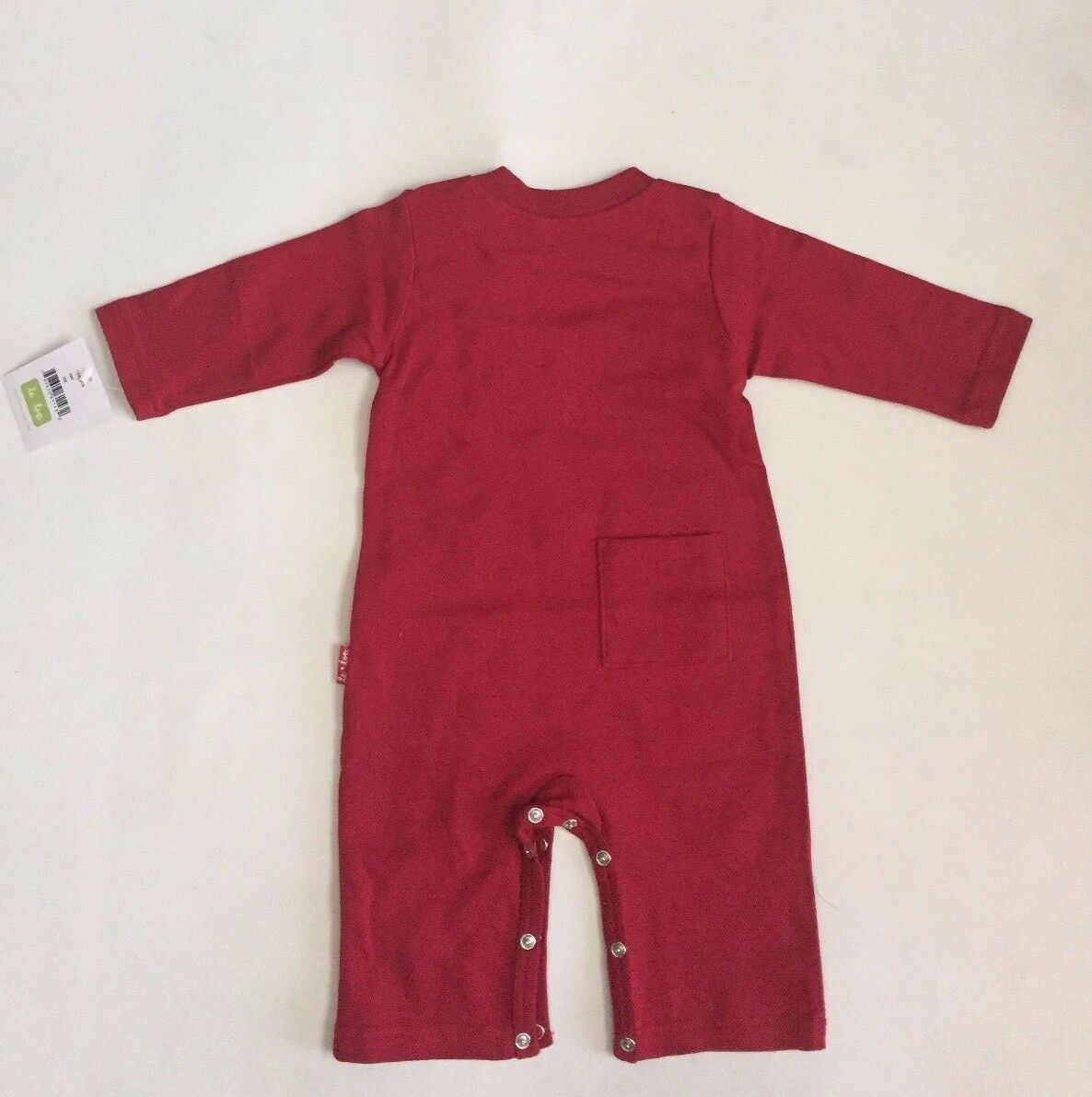 NWT Le Top Christmas Elves Footed Coverall And Overall Set boys sz 3M 6M 9M A13