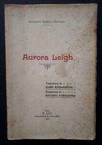 Elisabeth-Barrett-Browing-Aurora-Leigh-Prefazione-di-Antonio-Fogazzaro-1908