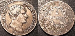 Napoleon-Bonaparte-1-Franco-Primer-Consul-Ano-XII-a-Paris-Muy-Buen-Estado-F