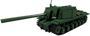 CUSTOM building INSTRUCTION SU152 RUSSIAN TANK to build out of LEGO parts - <span itemprop='availableAtOrFrom'>Exmouth, Devon, United Kingdom</span> - Returns accepted Most purchases from business sellers are protected by the Consumer Contract Regulations 2013 which give you the right to cancel the purchase within 14 days after t - Exmouth, Devon, United Kingdom