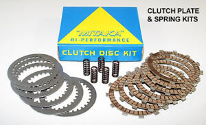 Honda CR500 1991-2001 Clutch Kit Friction & Steel Plates + Springs Set Mitaka