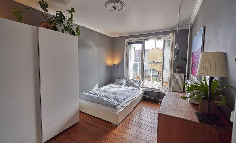København N, Andelslejlighed byttes, 2200