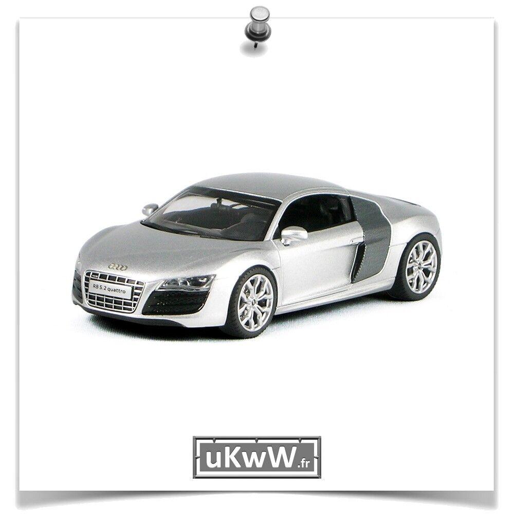 marchio in liquidazione Schuco Schuco Schuco 1 43 - Audi R8 V10 2009 argentoo autobone  al prezzo più basso