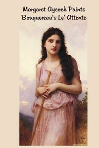 Oil-Painting-in-the-style-of-Bouguereau-Attente-Portrait-DVD-by-Margaret-Aycock