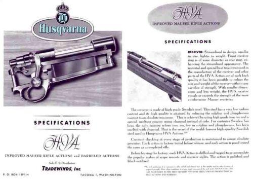 Tacoma, WA Mauser Catalog Tradewinds 1963 Husqvarna