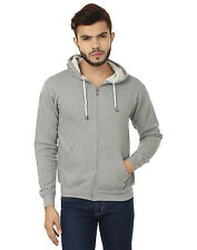 Stylish Zipper Hooded Sweatshirt