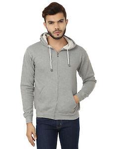 Stylish Zipper Hooded Sweatshirt