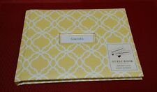 Hallmark Album Generic Guest Book Any Occasion or Event Cover Inserts Yellow