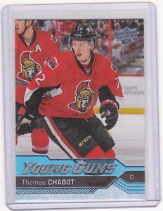 2016-17-Upper-Deck-Young-Guns-Rookie-488-Thomas-Chabot-RC-Ottawa-Senators