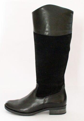 Femme Mode Cavalieres Neuves In Noir Shoes Bottes Chaussures Cuir Boots qIUS5S