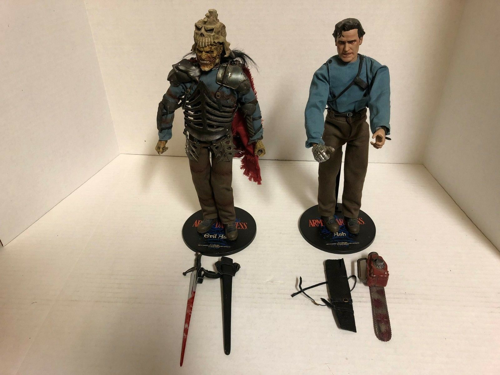 Sideshow Ash Evil Ash 12 inch 1:6 scale Used Loose Look Army of Darkness 2002