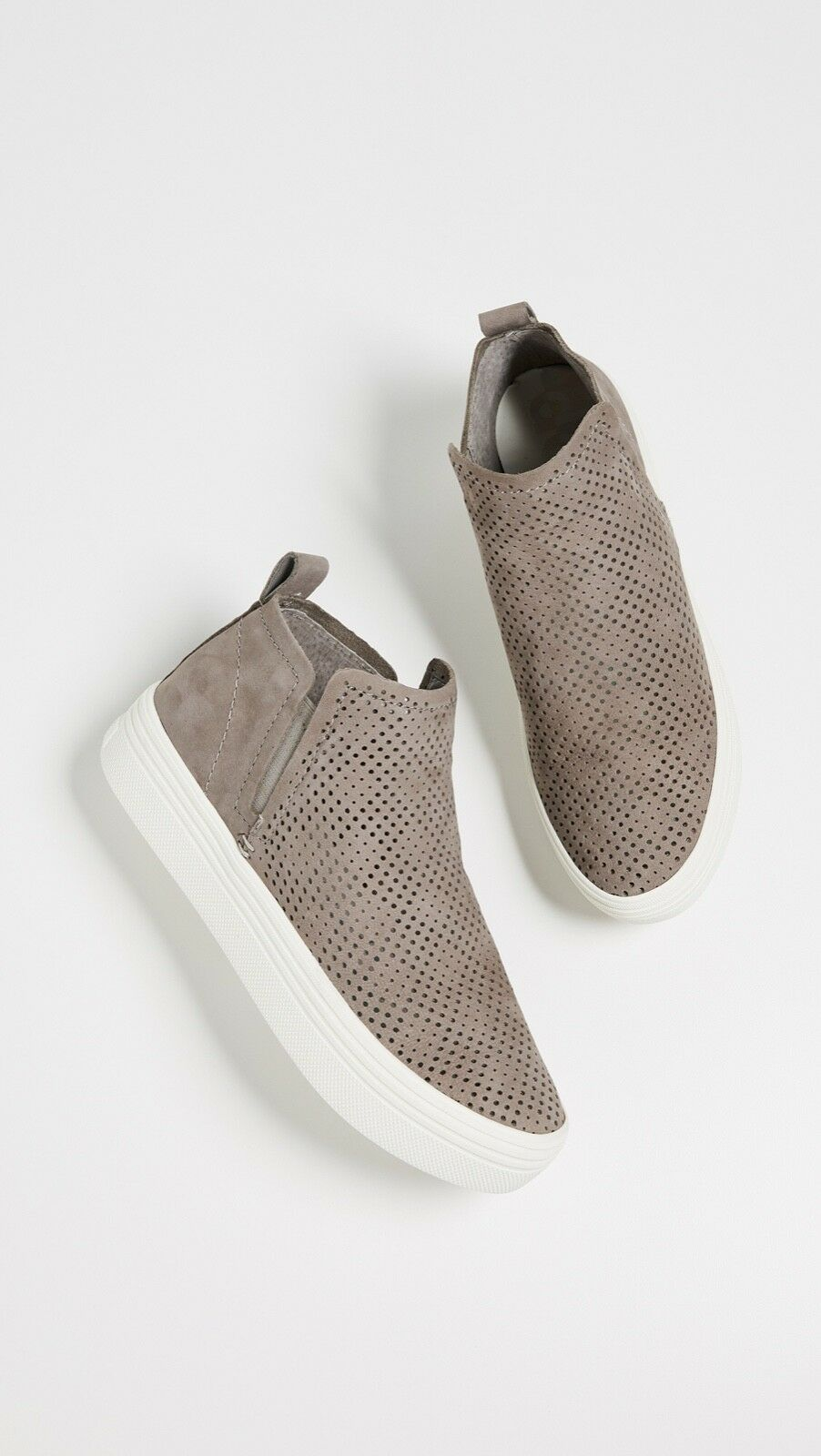 Dolce Vita damen's Tate Slip On Suede Suede Suede Turnschuhe 8.5M NEW Perforated Smoke Slip On 9b819e