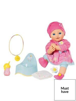 Zapf Elli Smiles 43cm Interactive Baby Doll Amp Accessories