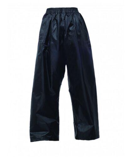 Regatta Kids Boys//Girls Waterproof Over Trousers Walking Camping or School Trips