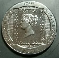 Isle of Man 1990 150th Anniversary of the Penny Black 1 Crown Coin