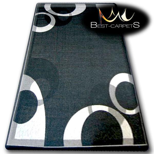 Modern Sisal Teppich 'Floorlux SchwarzPraktischer Strapazierfähig und Robust
