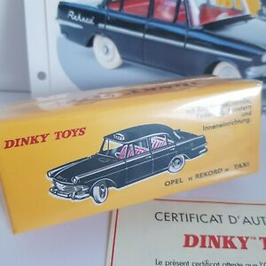DINKY-TOYS-OPEL-REKORD-TAXI-ANNEE-1967-NEUF-SOUS-BLISTER