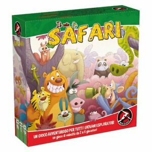 Il-Mio-Safari-Jeu-de-Table-Neuf-By-Red-Glove-Edition-Italienne