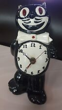 Vintage Black and White FELIX THE CAT CLOCK from the California Clock Company