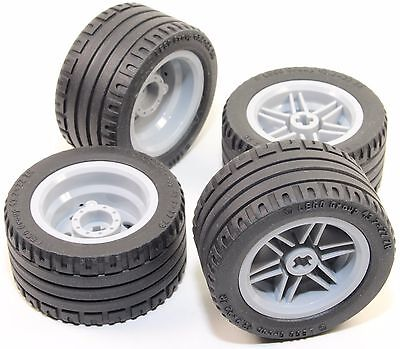 56145 44309 Mindstorms nxt ev3 tyre LEGO 8pc Technic Wheel and Tire SET