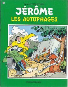 BD  Jérôme- Les autophages  - N°53 - Re- 1977 -TBE -Vandersteen