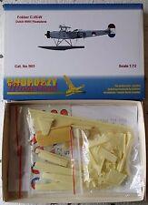 B03-FOKKER C.VII-W Dutch WWII Floatplane-Choroszy Modelbud-1/72