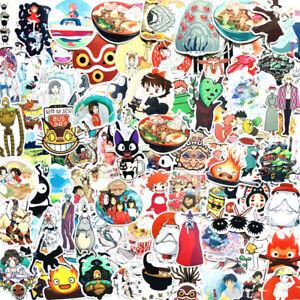 NEW-50-Stunning-Hayao-Miyazaki-Vinyl-Stickers-Kiki-Spirited-Away-etc