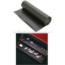 Toolbox Drawer Liner Chest Cabinet Black Non Slip Mat Tray Shelf Garage 30 Ft