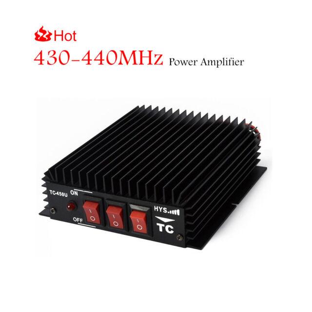 70cm 430-440Mhz UHF FM Ham Radio Power Amplifier For Portable UHF Walkie  Talkie