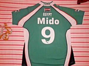 EGYPT NATIONAL TEAM MIDO 2002 SHIRT JERSEY AJAX ROME TOTTENHAM AL AHLY ZAMALEK