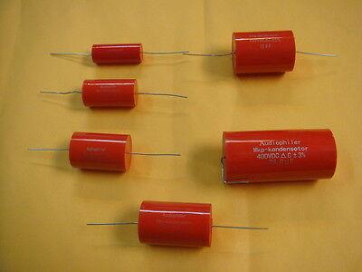 4 X AUDIOPHILER 3.3uF 400V +/-3% MKP METALLISED POLYPROPYLENE CAPACITOR