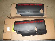 99 04 New Gm Corvette Black Fuel Rail Coil Covers Ls1 Pair 12561503 12561502 Fits Corvette