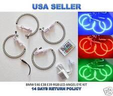 BMW 5050 SMD RGB LED ANGEL EYES KIT for 3,5,7 Series E38 E39 E46 - Multi-color