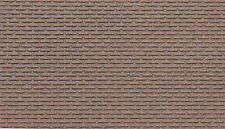 Jordan Scenic HO Gauge Red Brick Wall Embossed Sheet # 909