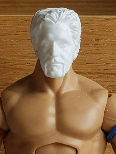 WWE Mattel Personalizado cabeza Fundido Jeff Jarrett Tna Figura forraje